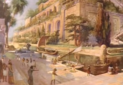 Hanging gardens of babylon1