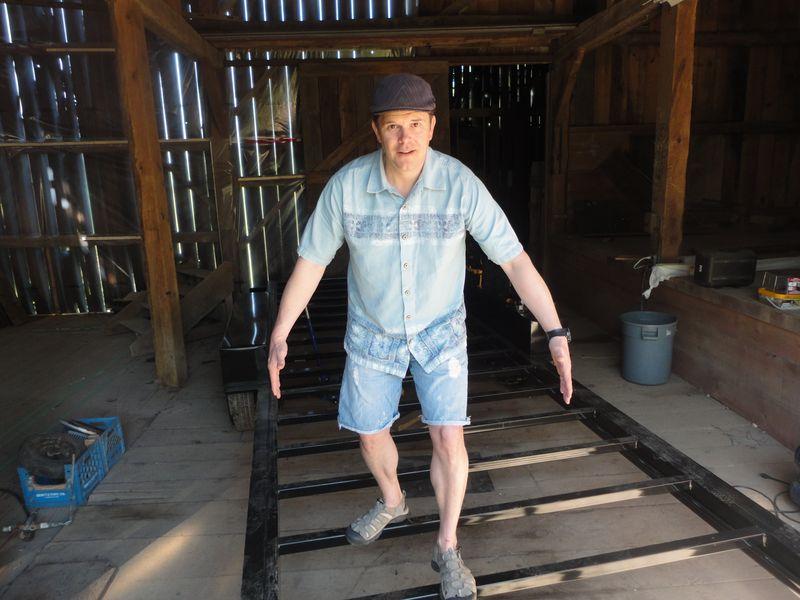 David Shephard builds tiny house in Toronto