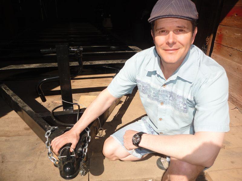 David Shephard, tiny house trailer hitch