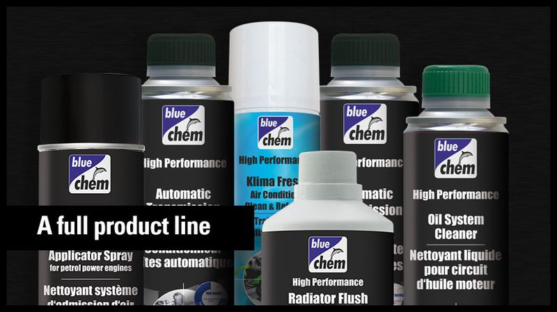 Bluechem product line