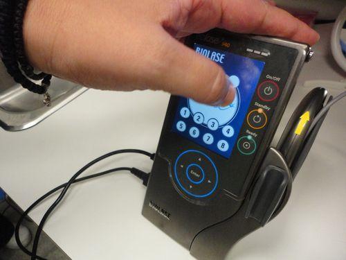 Biolase touch screen 1