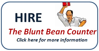 Mark Goodfield, the blunt bean counter blog, hire Toronto accountant