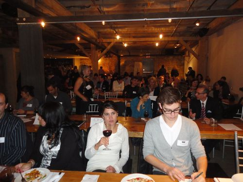 In Distillery District, Search and Social Rank Symposium Five , Boiler Room, 15 Oct 2013, full house, event space